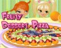play fruity dessert pizza game