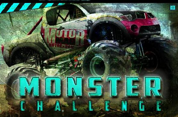 monster challenge car flash game