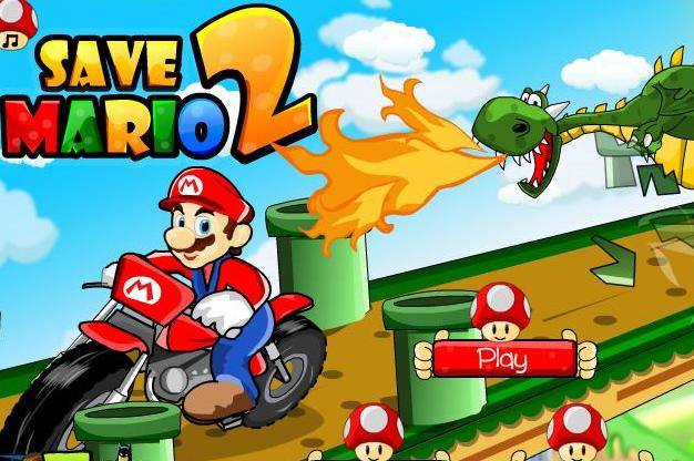 play save mario 2 game 2014