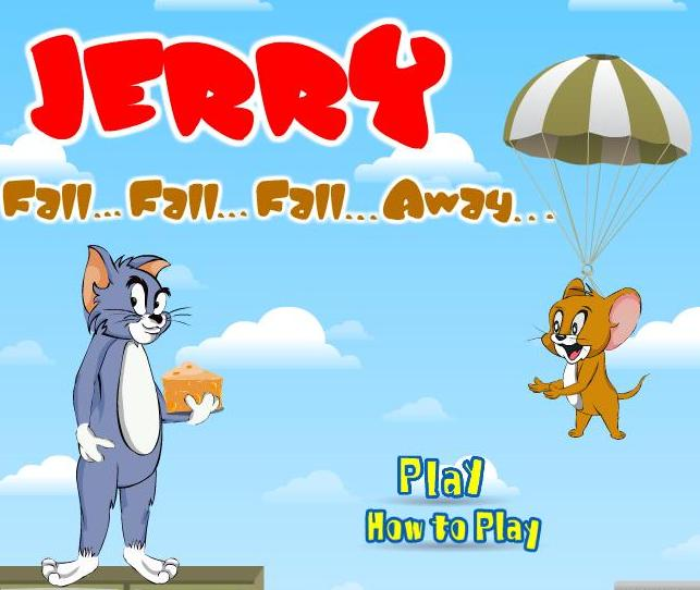play tom and jerry fall fall fall away game 2014