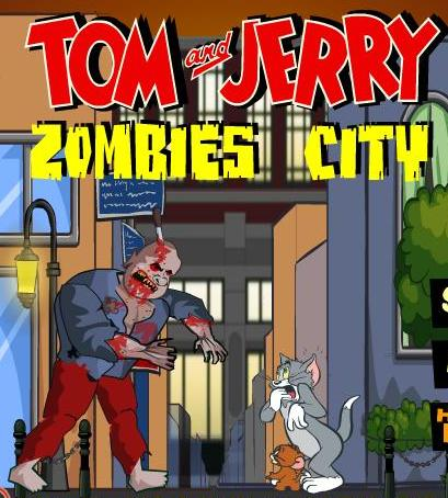 play tom and jerry zombies city game 2014