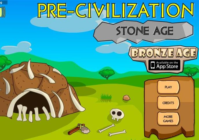 pre-civilization stone age flash game