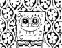 sponge bob square pants coloring pages pictures