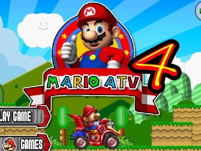 super mario atv 4 flash game