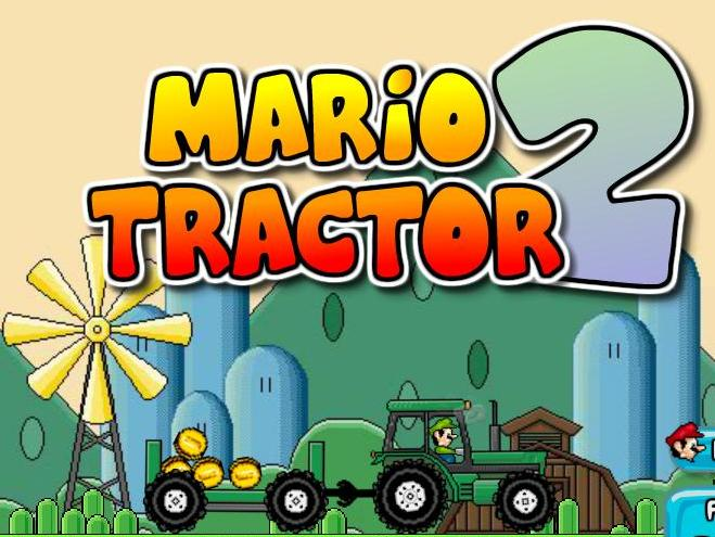 super mario tractor 2 flash game online