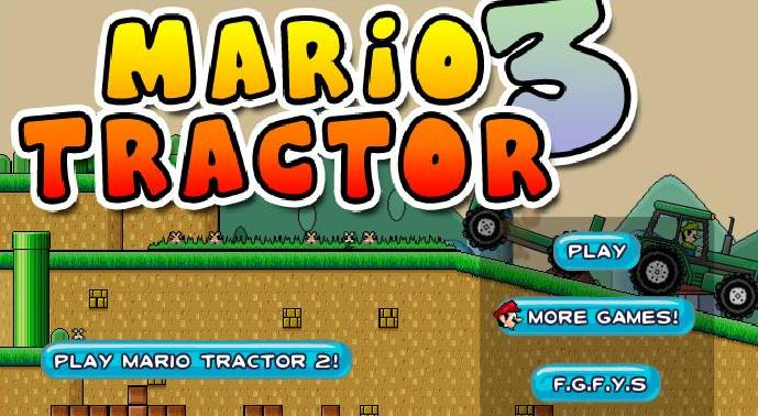 super mario tractor 3 flash game online